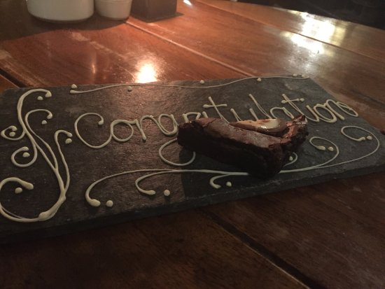 Hotel du Vin & Bistro: Strawberries and chocolate on arrival and a lovely surprise at the end of a perfect meal