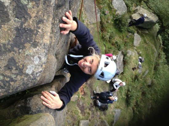 Groombridge, UK: Topping out at Stanage Edge, The Peak District