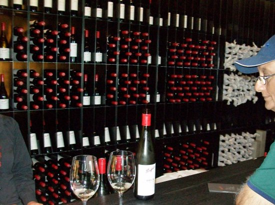 Penfolds Magill Estate Cellar Door: Where we did the tasting