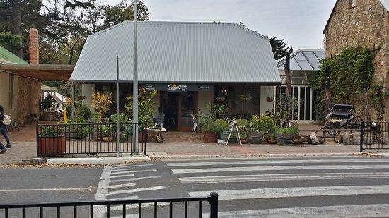 Hahndorf, Australia: Seasonal Garden cafe