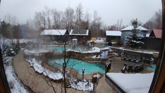 Scandinave Spa at Blue Mountain : In January 2017