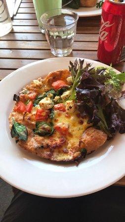 Wentworth Falls, Australia: Spanish Omelette