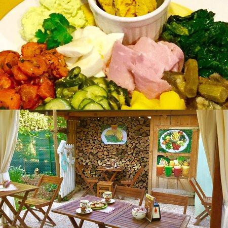 Casale sul Sile, Italia: Pranzo di lavoro leggero e di qualità con verdure di giornata, piatto stagionale 8.50€