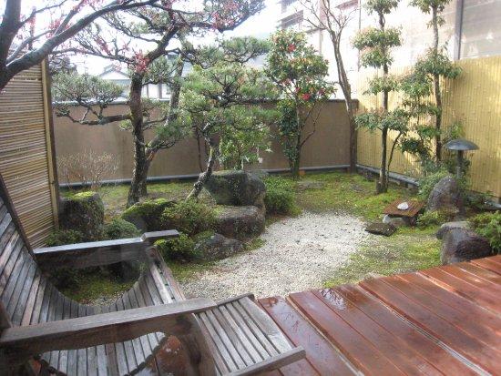 Achi-mura, Japan: 全て部屋は1階で坪庭