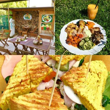 Casale sul Sile, Italia: Pranzo a Casale vicino il lungo Sile...Menù naturale di alta qualità 11€