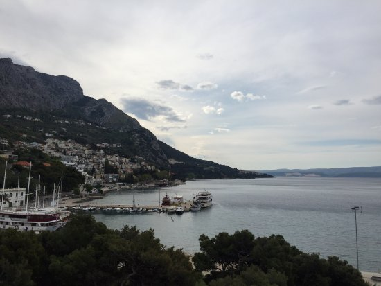 Hotel Plaza Omis: View from the hotel