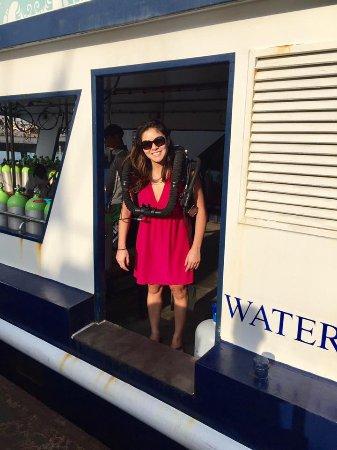 Rawai, Thailand: Female tech diver on JJ CCR