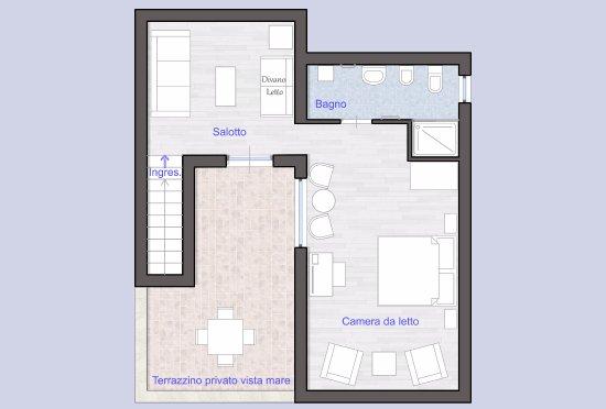 piantina - appartamento residence - picture of hotel residence ... - Piantina Camera Da Letto