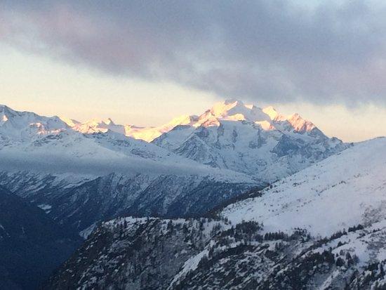 Belalp, Switzerland: Dom mit Mischabelgruppe