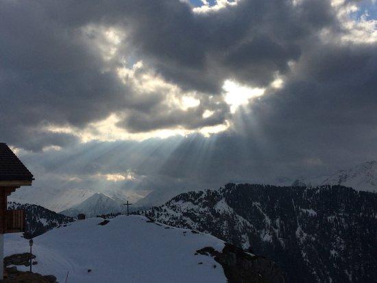 Belalp, Switzerland: Blick gegen Rinderalp
