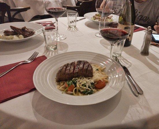 Klassz: linguine with beef