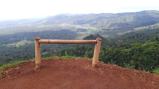 Candidasa, Indonésia: Heaven Hill mooi uitzicht