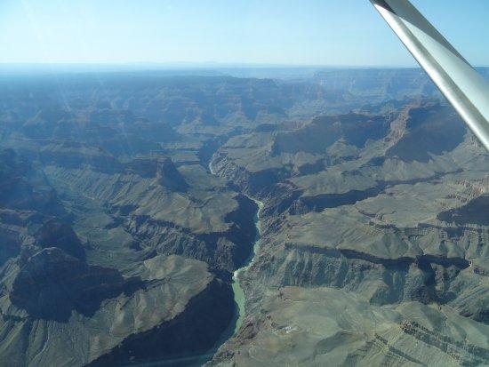 Tusayan, AZ: Wunderbarer Blick auf den Colorado