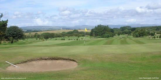 Irvine, UK: Great local golf course
