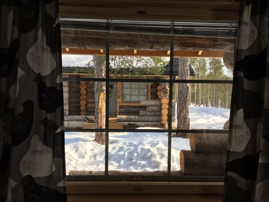 Nellim Wilderness Hotel: View from the Cabin