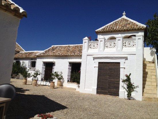 Alcala del Valle, Spain:  Cortijo in perfect state.