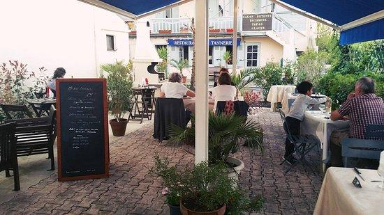 Salies-de-Bearn, فرنسا: TERRASSE PIANO BAR LE SAMEDI SOIR 