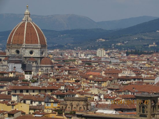 Italian Florence: Views From Piazzale Michelangelo