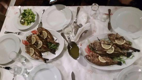 Vartholomio, Grecja: seafood