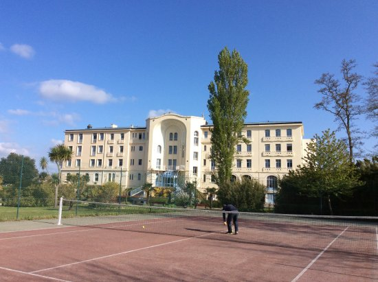 Morgat, Frankrijk: Une vue du parc intérieur