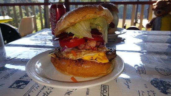 Orbost, Australia: Aussie burger I think?