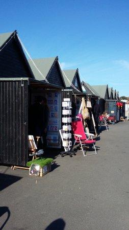 Whitstable, UK: Marché des artisans