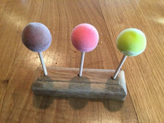 Oldstead, UK: Lollipops