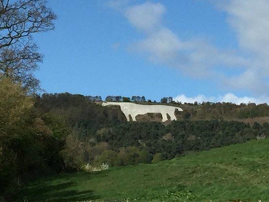 Oldstead, UK: The Kilburn White Horse