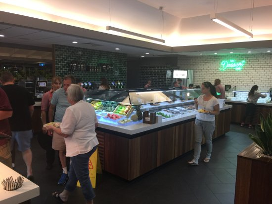 Mermaid Beach, Australia: The Salad Bar