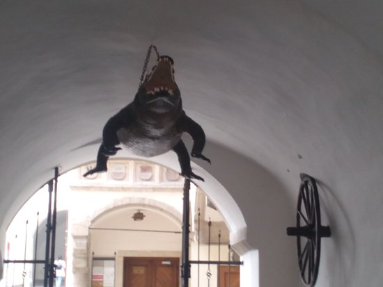 Брно, Чехия: Brněnský drak