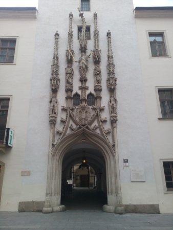 Брно, Чехия: Stará radnice