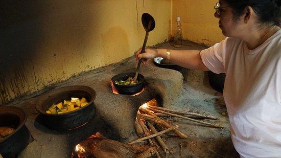 Gampola, Sri Lanka: Küche