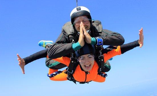Hof Carmel, Israel: Tandem Skydiving