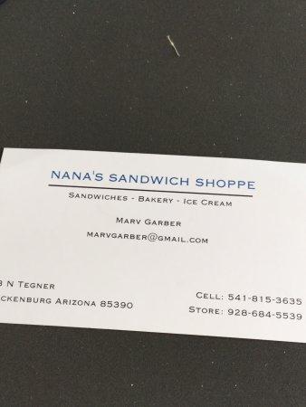 Nana's Sandwich Shoppe: photo0.jpg