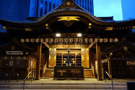 Toranomon Kotohira-gu: 社殿は立派です