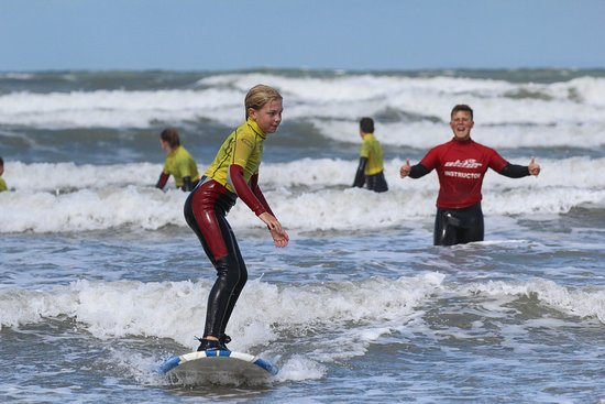 Westward Ho, UK: The North Devon Surf School 'Centre of Excellence'