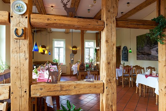 Clausthal-Zellerfeld, Germany: Restaurant