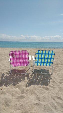 Hollywood Beach: Praia nota 10