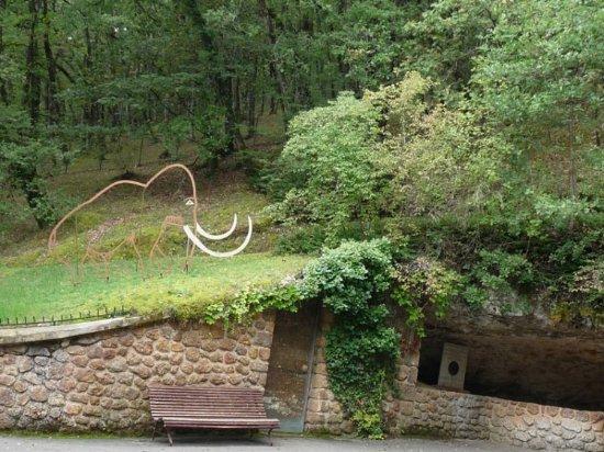 Rouffignac-Saint-Cernin-de-Reilhac, Prancis: entrée