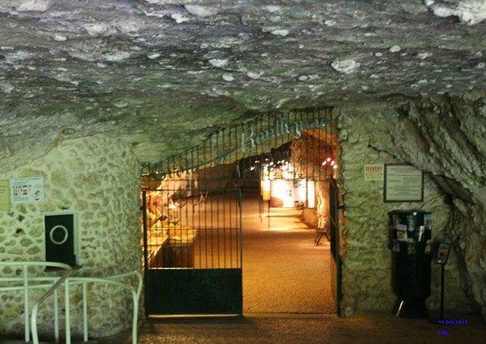 Rouffignac-Saint-Cernin-de-Reilhac, Prancis: l'entrée