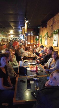 Tillsonburg, Canada: Patrons enjoying one of The Copper Mug's Local Talent Nights.