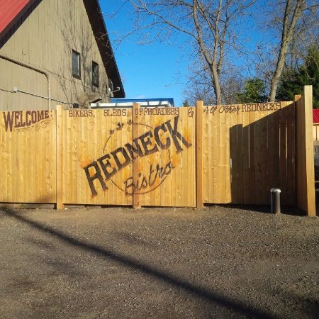 Redneck Bistro: The Parking lot