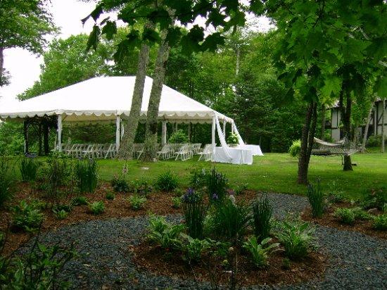 Beech Mountain, North Carolina: Wedding with Tent