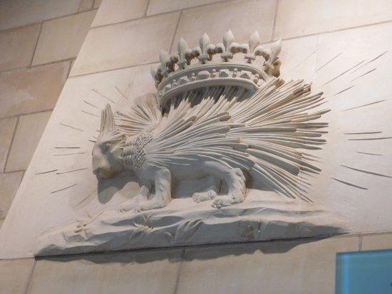 Centre-Val de Loire, France: Le porc-épic (Emblême de Louis XII)