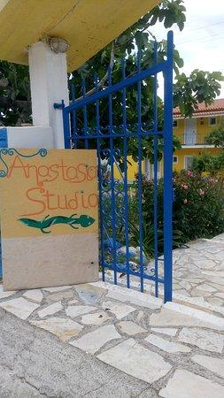 Anastasia Studios: Front Door
