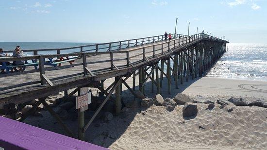 Carolina Beach Fishing Pier North Ocean Villas