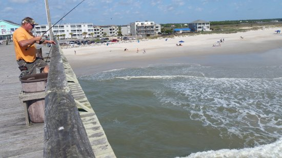 Pier fishing picture of carolina beach fishing pier for Carolina beach fishing