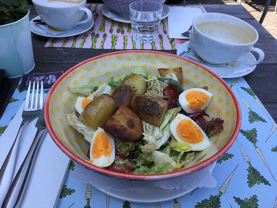 Restaurant Opus: Hauptgang Nizza Salat