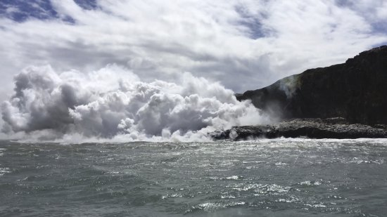 Pahoa, هاواي: Lava from 100 meters