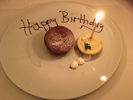Rorschacherberg, Suiza: Liebevolles Dessert zum 12. Geburtstag